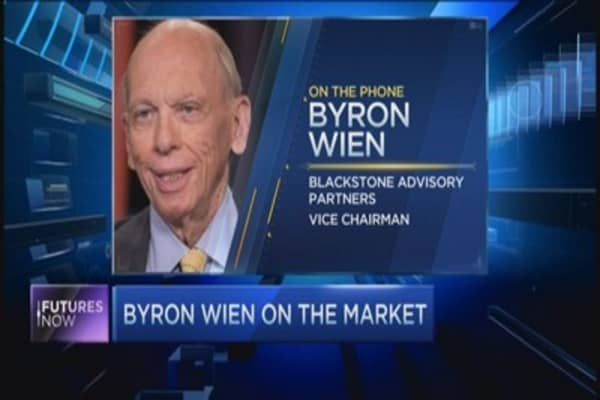 Byron Wien's take on the market
