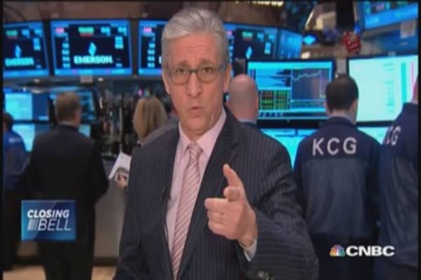 Pisani: Wild day in oil