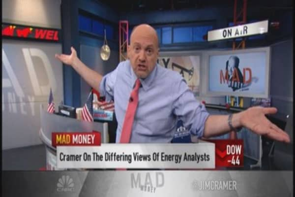 Cramer:  Oil the ultimate battleground