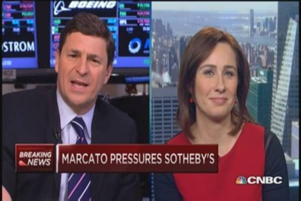 Marcato pressures Sotheby's