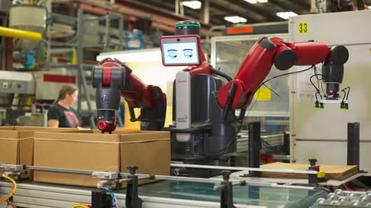 The Baxter robot is an adaptive, affordable machine that's being used on more shop floors.