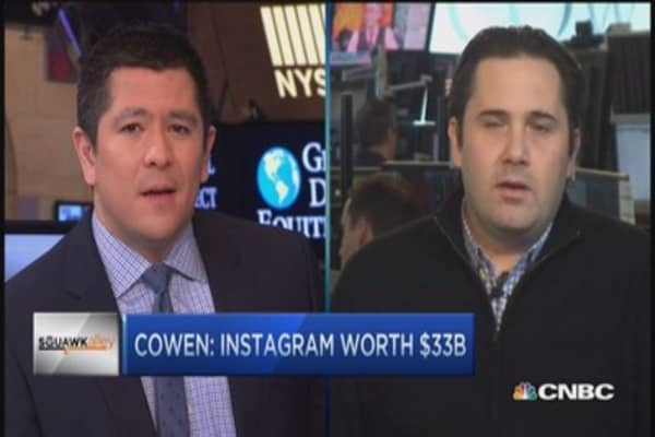 Seriously? Instagram's worth $33 billion