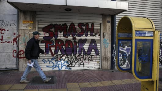 Why Greece will never repay its debt