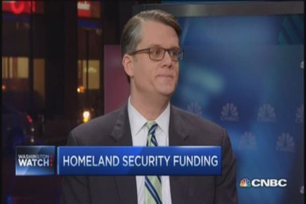 Political hot potato... homeland security