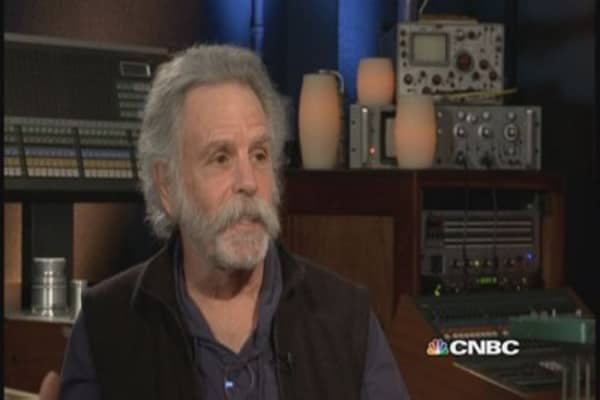 Grateful Dead's Bob Weir: 'I got lucky'