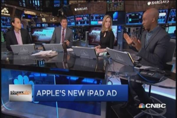 Hedge funds grab Apple