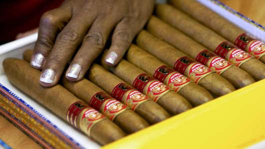 Cuban cigar maker eyes 25-30% of US market if embargo lifted