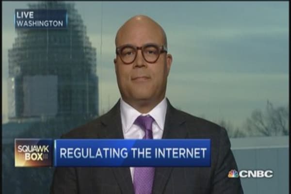 Net neutrality on the line