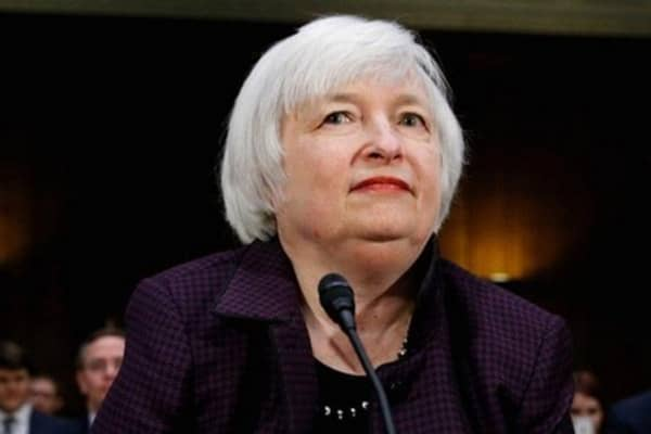 Yellen: 'Patient' means next couple of meetings