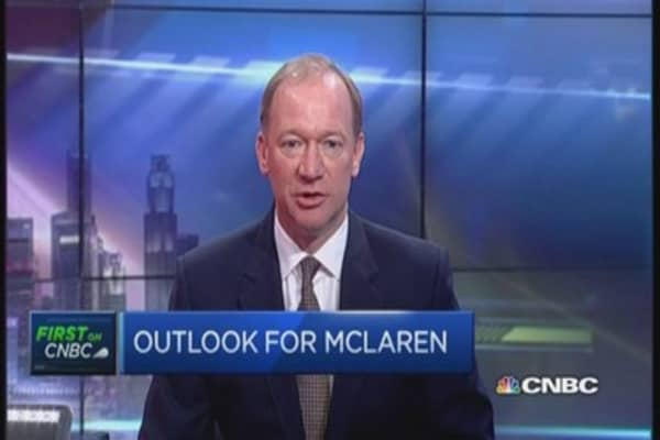 McLaren: Singapore is an 'influential' market