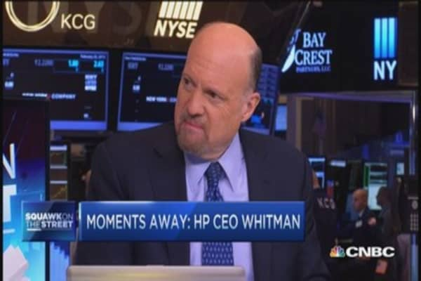 Cramer: Wal-Mart should worry about TGT