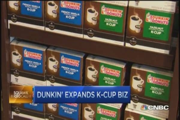 Get you Dunkin' coffee fix at home: CEO