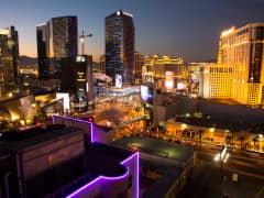 The Strip in Las Vegas, Nevada,