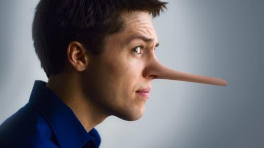 Pinocchio nose long nose