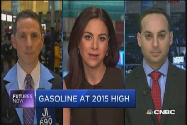 Futures Now: Gas rallies; crude remains stagnant
