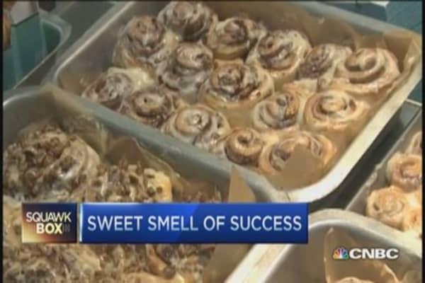 Cinnabon, sweet smell of success
