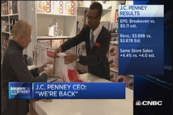 Is JCPenney really back?