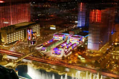 An aerial view of the Grand Bazaar Shops