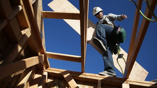 New home sales construction