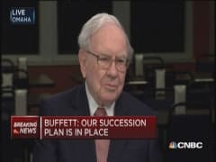 Who will succeed Warren Buffett?