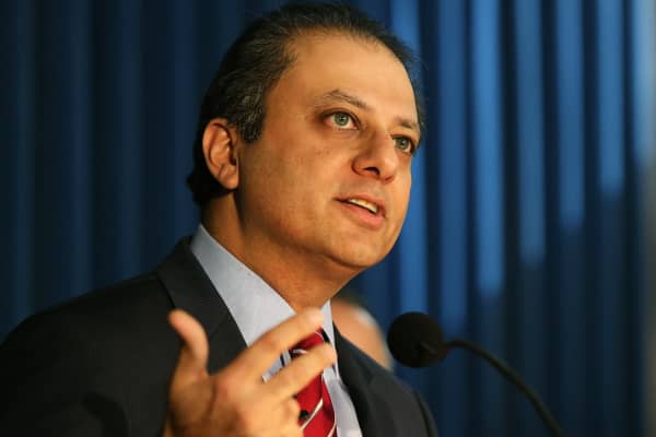 Preet Bharara reveals why he made President Trump fire him