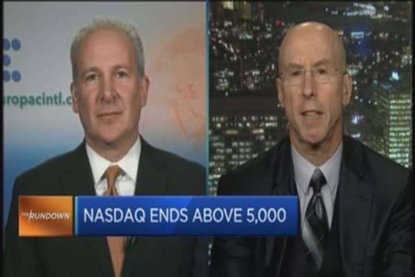 Nasdaq at 5,000: Return of dot-com bubble?