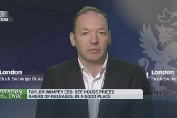 Govt action hasn't fueled housing bubble: CEO