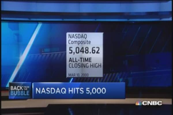 Nasdaq 5K now vs. then