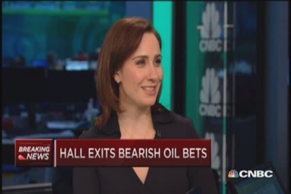 Andy Hall exits bearish oil bets