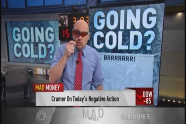 Cramer's cold spots in the market