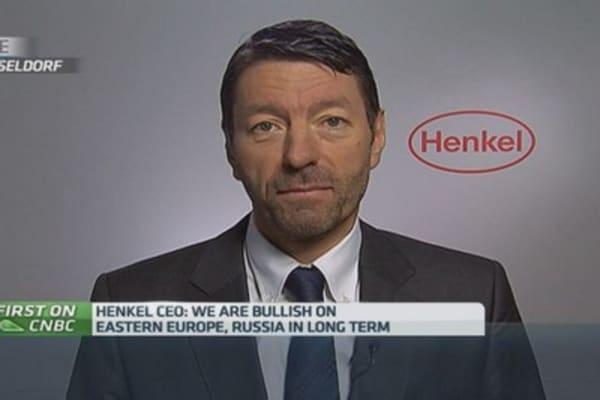 Bullish on eastern Europe, Russia: Henkel CEO
