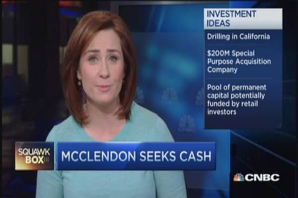 McClendon seeks cash for next big venture