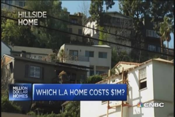Pick the million dollar LA home