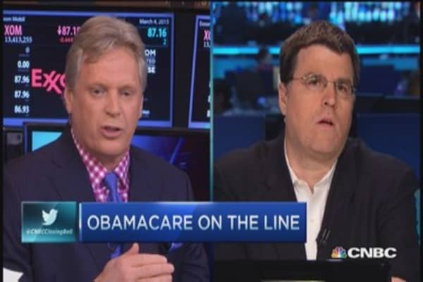 Obamacare on the line