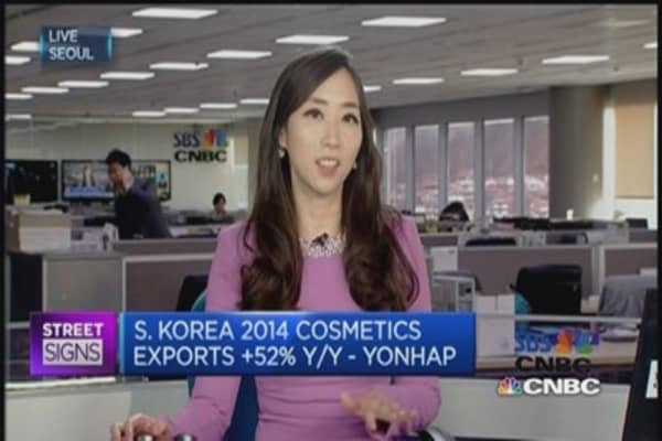 South Korean cosmetics makers shine
