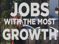 Jobs with the most growth