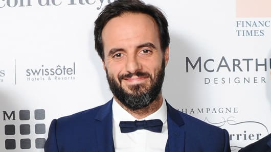 Farfetch founder and CEO Jose Neves is shown at the Walpole British Luxury Awards 2014 in London, Nov. 3, 2014.