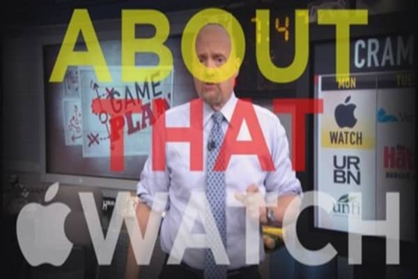 Cramer: All eyes on the Apple Watch