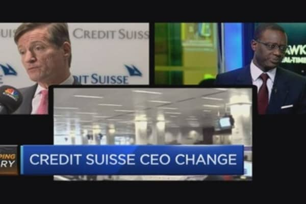 Thiam is an 'innovative appointment' for Credit Suisse