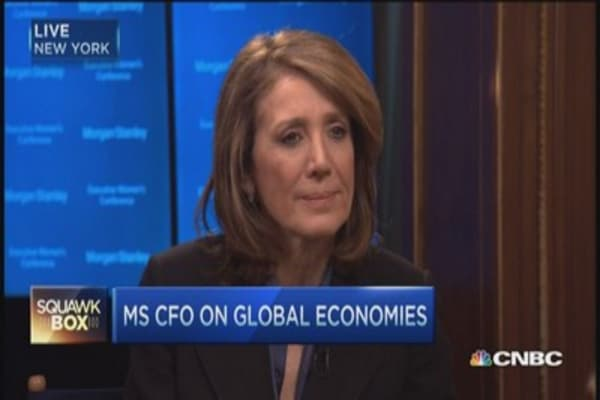 'Getting the Edge' on Wall Street: MS CFO