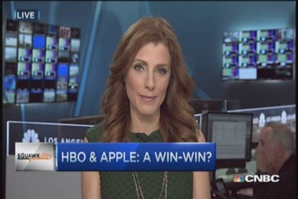 HBO Now & Apple, a win-win deal?