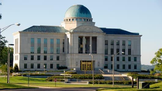 Iowa's Supreme Court building