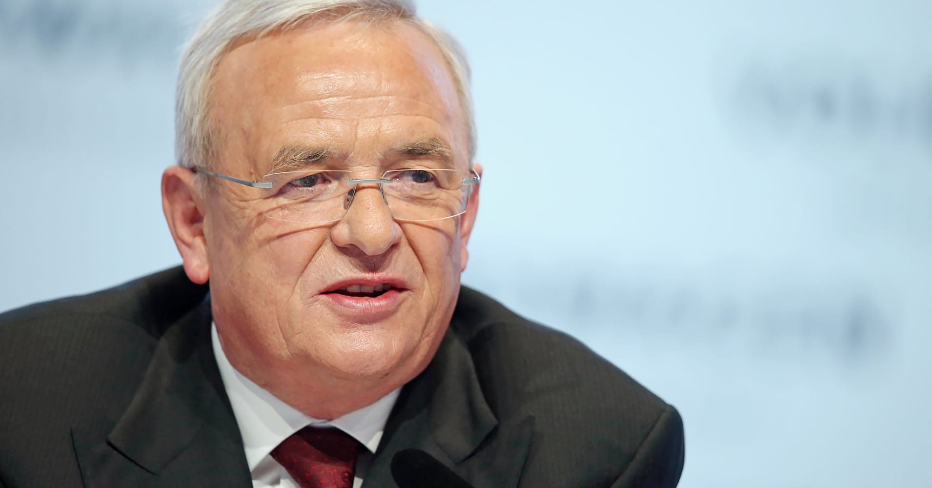 Ex-VW CEO: 'I would have stopped' the cheating but 'I wasn't informed'