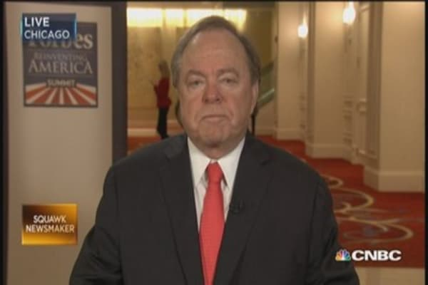 Time to lift oil restrictions: Harold Hamm