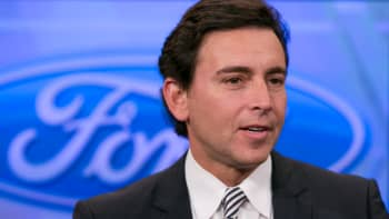 Mark Fields, CEO of Ford Motor Co.