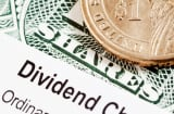 Stock dividend check