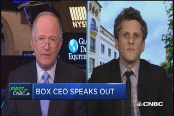 Box CEO: Great quarter, still pushing on growth