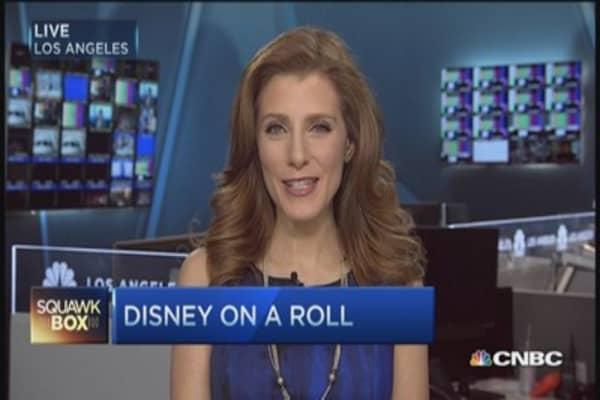 Top 3 reasons Disney's 'crushing it'