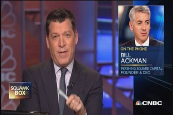 Valeant won't overpay for Salix: Bill Ackman