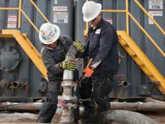 Oil gas North D